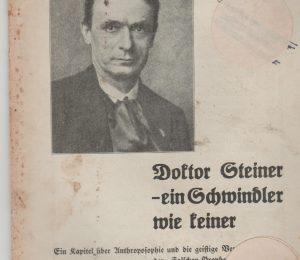Doktor Steiner Schwindler
