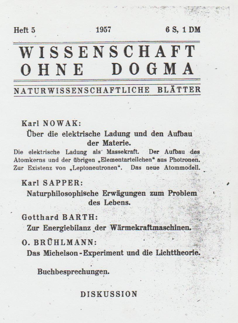 Wissen im Werden Heft 1957/5